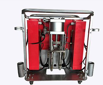 双气缸聚脲喷涂设备